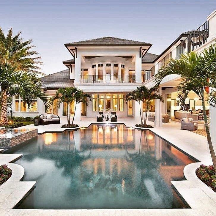 House Goals Rate It Follow My House Inspiration For More What Do You Think About This House Tag Luxury Homes Dream Houses Pool Houses Mansions