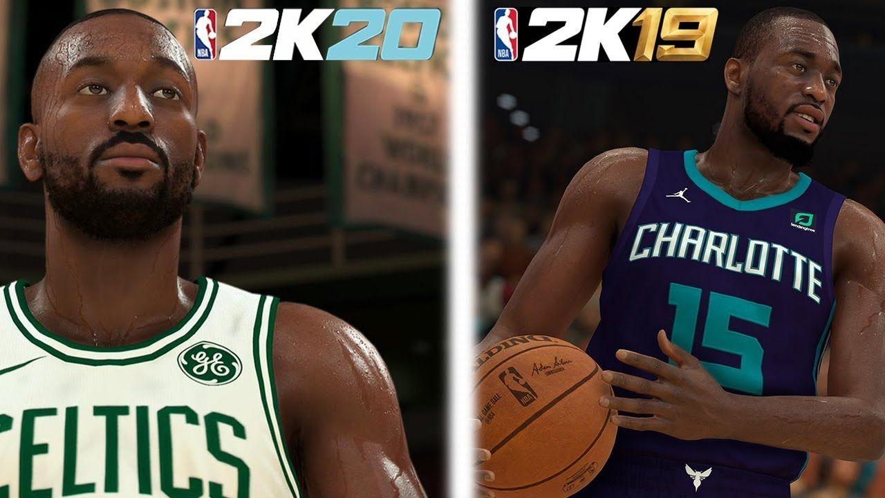 NBA 2K20 vs NBA 2K19 SCREENSHOTS GRAPHICS COMPARISON! IS