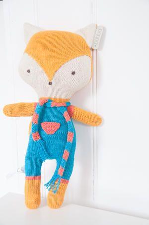 Cute fox. 100% Organic cotton. •.•