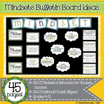 mindsets bulletin board for the new year greetings this mindsets bulletin board provides the awareness your students need to become college and career