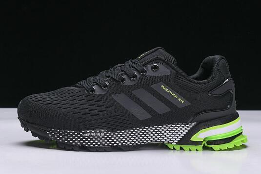 wholesale dealer 536d9 c3df5 New adidas Aerobounce ST BlackGreen Mens Size Shoes BW0003