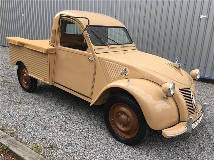 Classic 1955 Citroen 2cv Pickup For Sale In Derbyshire With Classic Sports Car Classifieds The Uk S Best Online C Classic Cars Cool Sports Cars Sports Cars