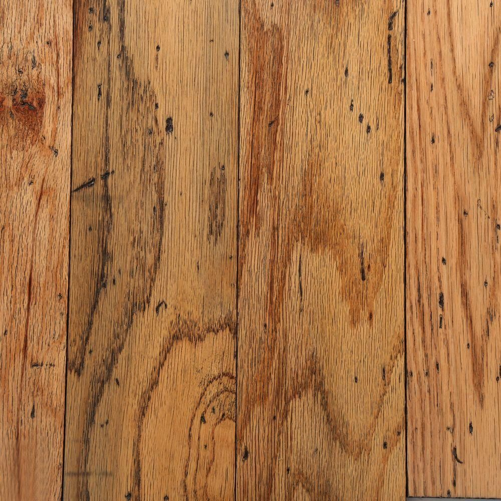Bruce Distressed Oak Toast 3 8 In Thick X 5 In Wide Random Length Engineered Hardwood Flo Engineered Hardwood Flooring Hardwood Floors Wood Floors Wide Plank