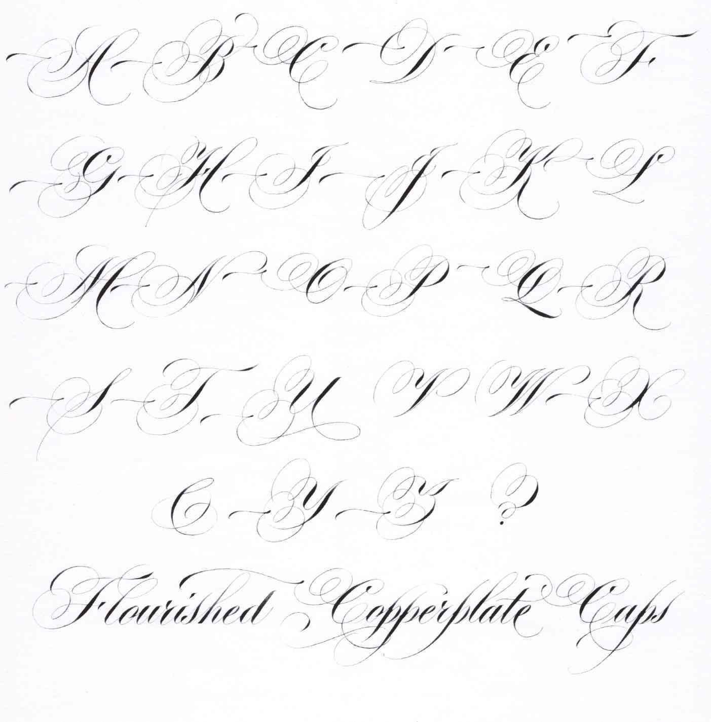 Unique Fancy Cursive Script In