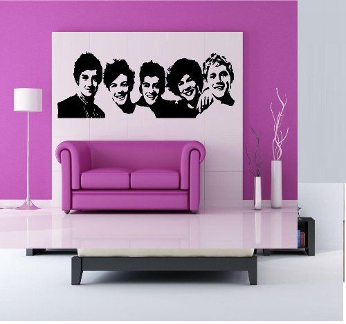 ONE DIRECTION: WALL DECAL, HOME