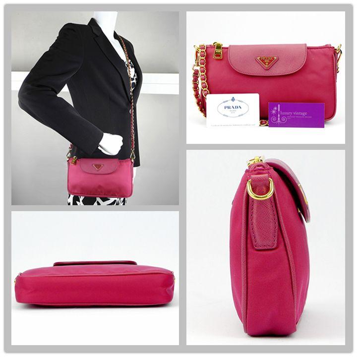 prada sling bag -purple pink~  2f0258f2fffd6