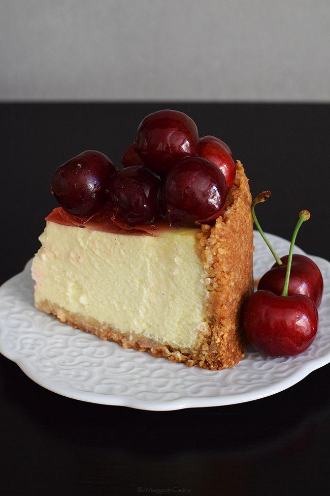 Che adoro il cheesecake non è un mistero, ma probabilmente non sapete che adoro anche le ciliegie...