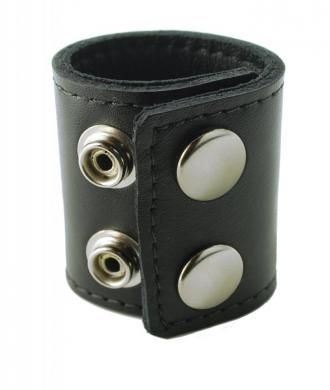 2in Stretcher W/Snaps Spartacus Leather 2 inches Stretcher with Snaps. Fasten your premium ball stretcher around the top of your scrotum to experience a pleasurably tight...