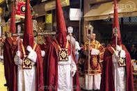 Penitentes Semana Santa  MÁLAGA