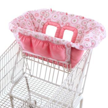 Comfort & Harmony Floral Cart & High Chair Cover