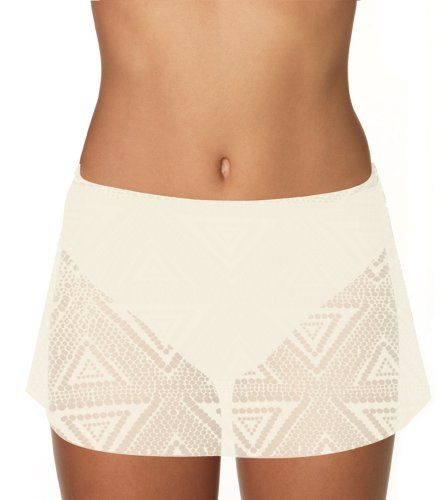 Sunsets 36B-WHCH White Chocolate Contemporary Swim Skirt, 16 The Contemporary swim skirt allows any woman to feel confident walking along the beach. You'll feel comfortable in this fashionable skirt from morning to night. Seamless swim skirt lays smooth over tummy. Hidden attached swim bottom and matching colored lining. Full coverage.  #Sunsets #Apparel