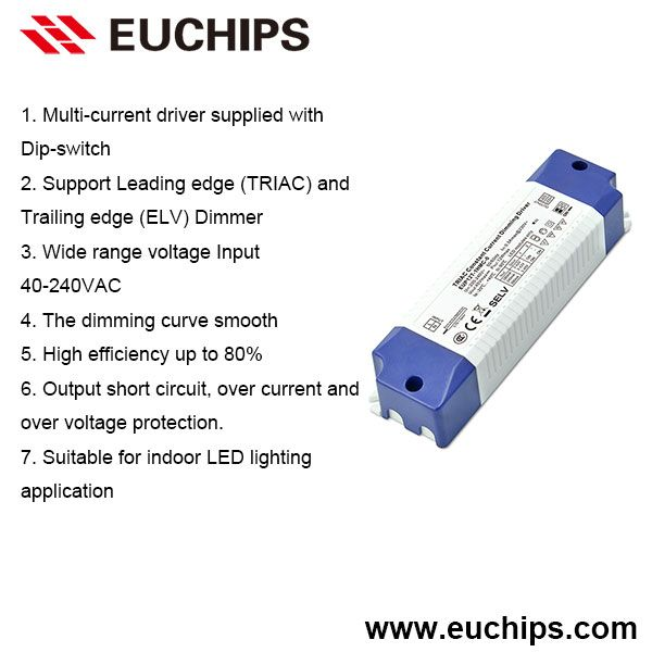 180 240 300ma 1 Channel 12w Triac Constant Current Dimmable Driver Eup12t 1hmc 0 Led Drivers Control System Led
