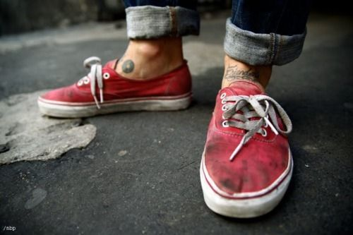 mens  authentic  lopro  menswear EVERY pair of my vans or canvas shoes  look like this 328d90a97
