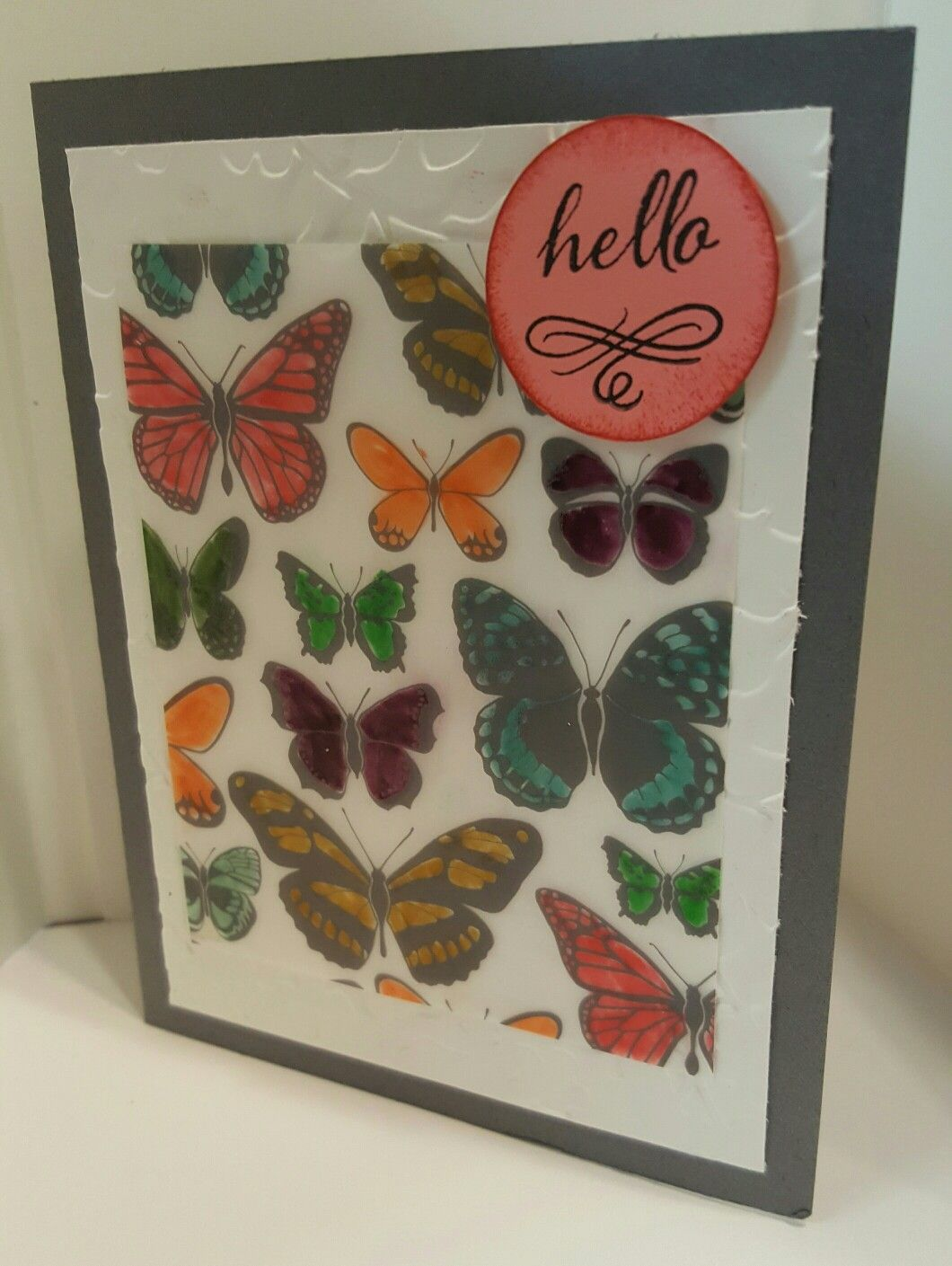Created with Stampin' Up!'s Sheer Vellum Perfection sheets. #stampinup #sheervellumperfection #handmadecards