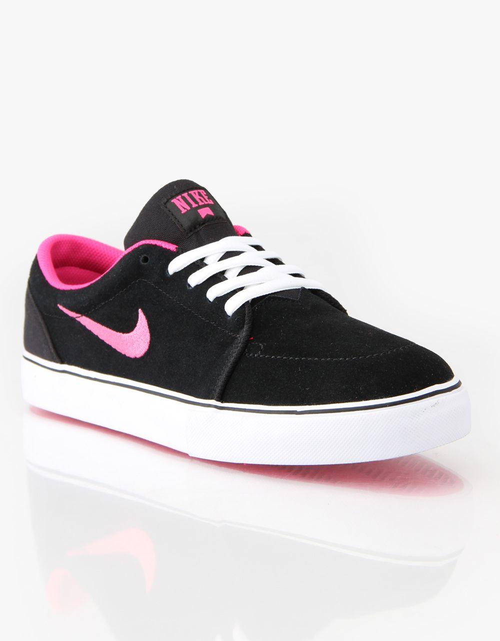 Nike SB satire black/ white/ pink
