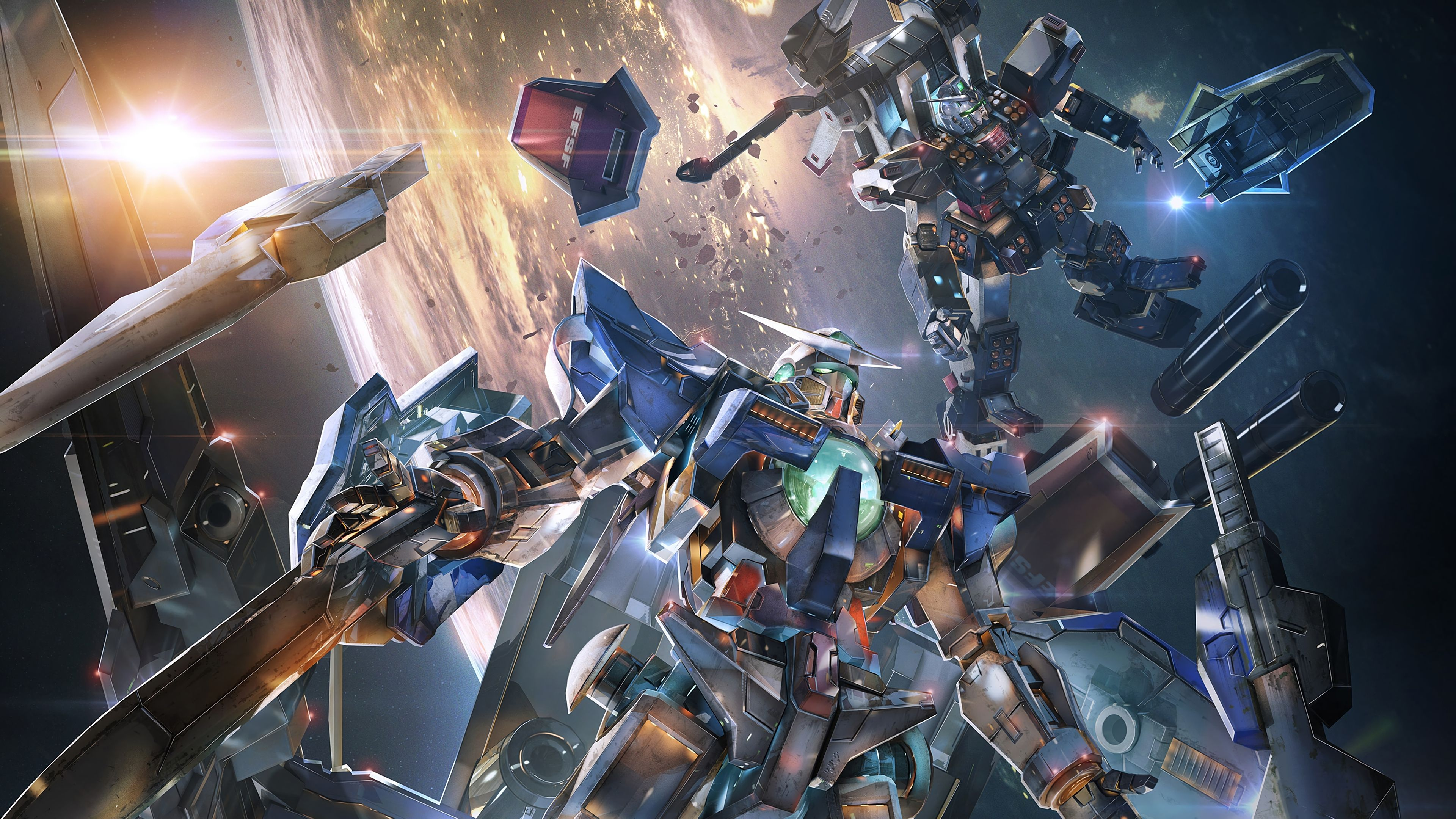 Nice Gundam Versus 4k Playstation 4 Ps4 Game 3840x2160 Wallpaper 3840x2160 Wallpaper Unicorn Wallpaper Gundam Wallpapers
