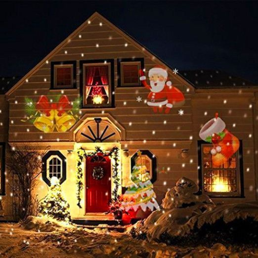 Christmas Outdoor Projection Decoration
