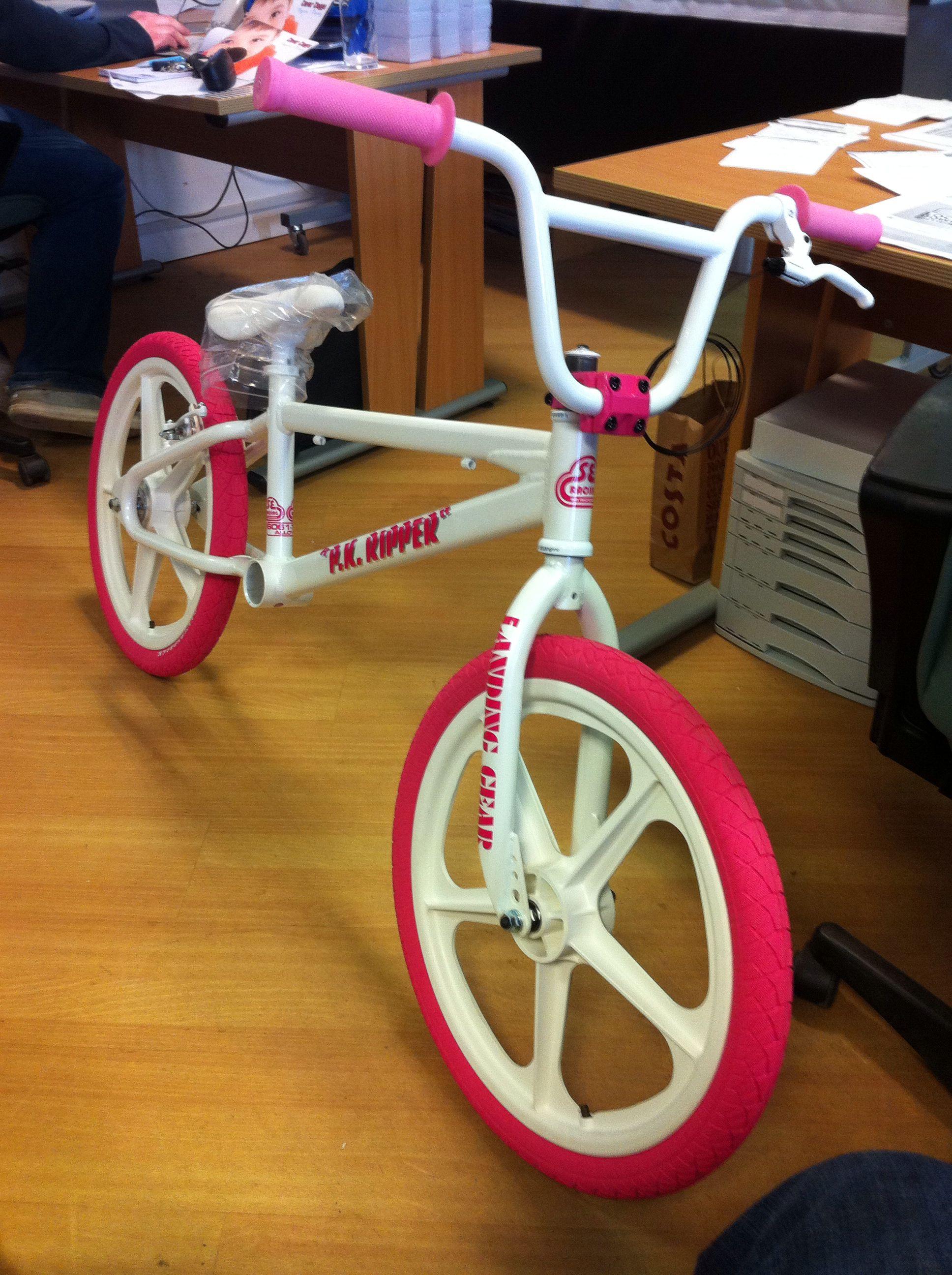 Replica PK RIPPER in pink for my little girl  | Bikes | Bmx