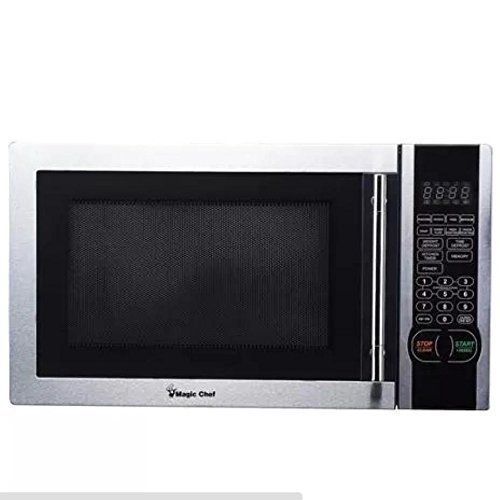 Hot Products Magic Chef 1 1 Cu Ft Digital Microwave Stainless