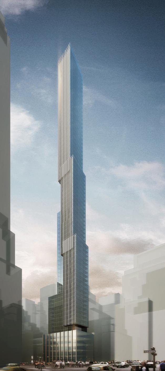 5th Ave 43rd St New York Architecture Scda Skyscraper Architecture Futuristic Architecture New York Architecture