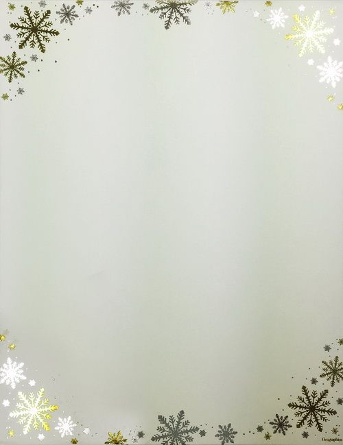 Buy frost ivory christmas letterhead silver gold foil 85x11 buy frost ivory christmas letterhead silver gold foil 85x11 49744w by geographics save with diy christmas stationery free word templates clip art spiritdancerdesigns Image collections