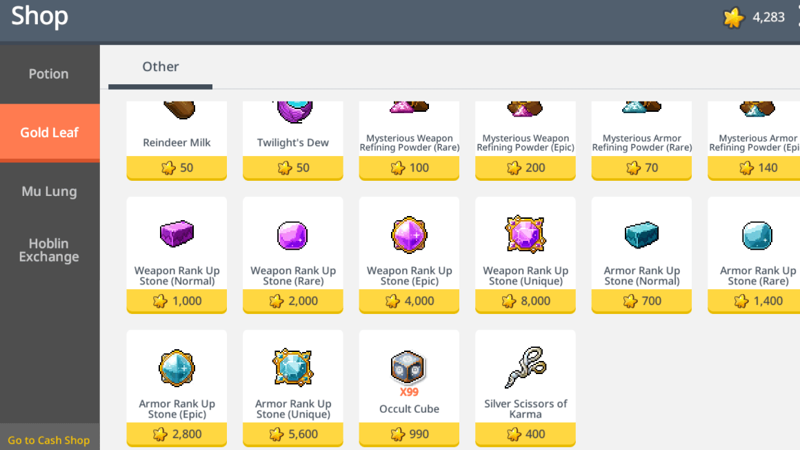 27+ Maplestory itmes information
