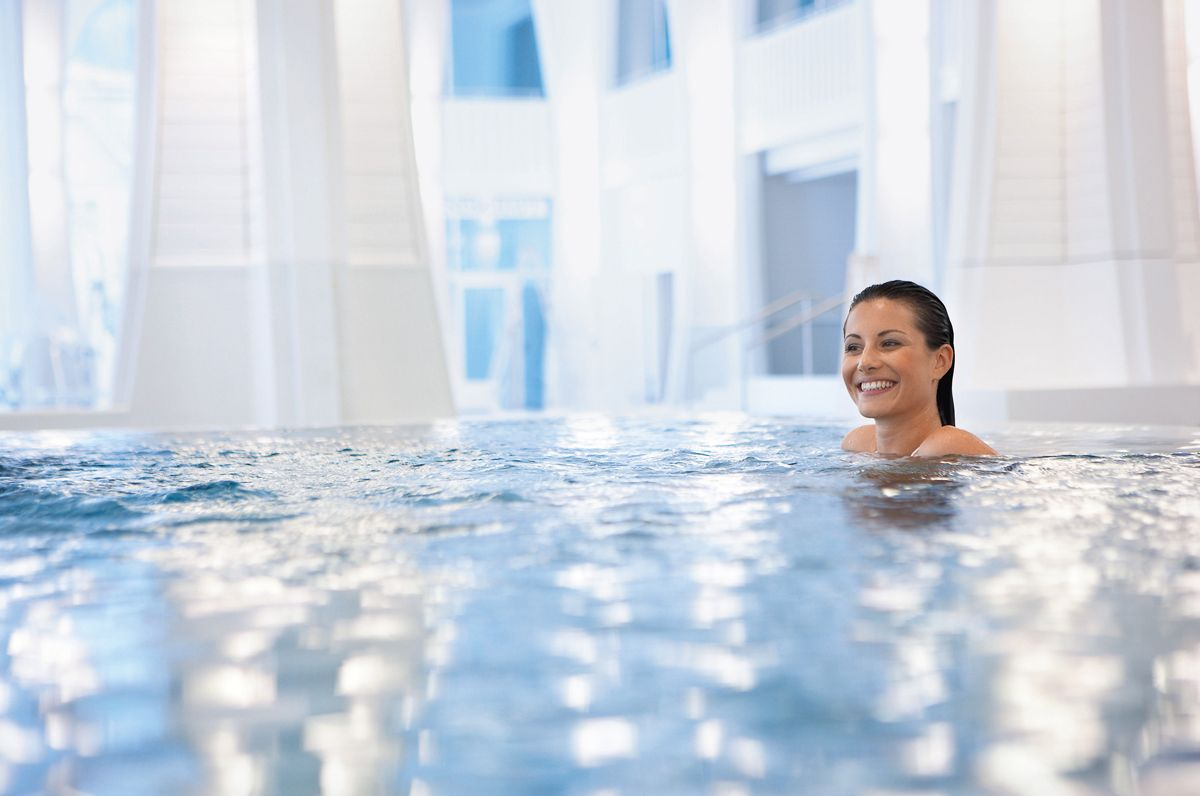 Wellness & Poltertag in der Tamina Therme Bad Ragaz | Review