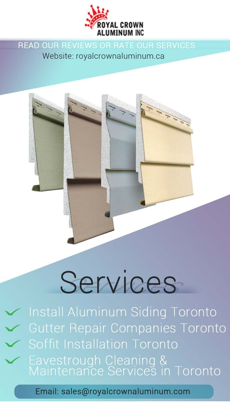 Installing Eavestrough Toronto Are You Swimming In A Pool Of A Thought How To Protect The Foundation Of Yo Siding Repair Aluminum Siding Repair Gutter Repair