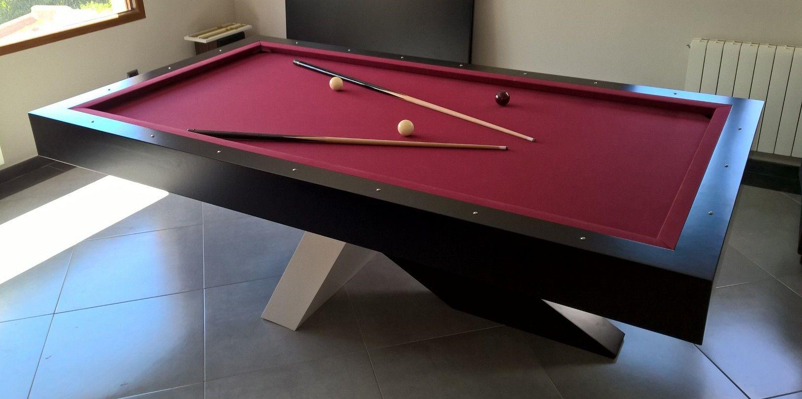 Mesa De Billar Diseño Contemporáneo Opciones Adaptación Para Mesa De Comedor O Tapas De Mesa Tapa De Ping Pong Billares Mesa De Billar Billar Español