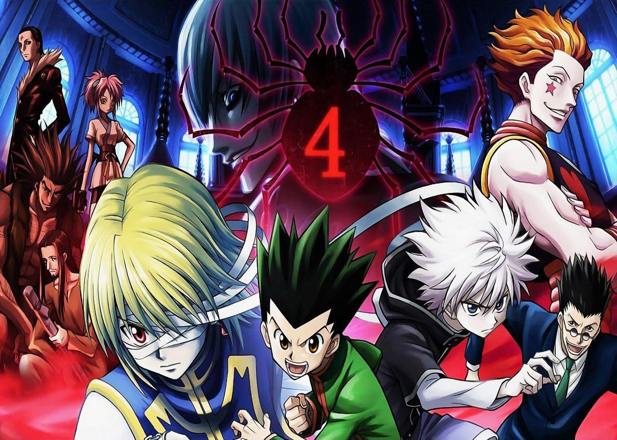Hxh Series Metal Poster Animefreak Studio Displate In 2020 Hunter Movie Hunter X Hunter Anime