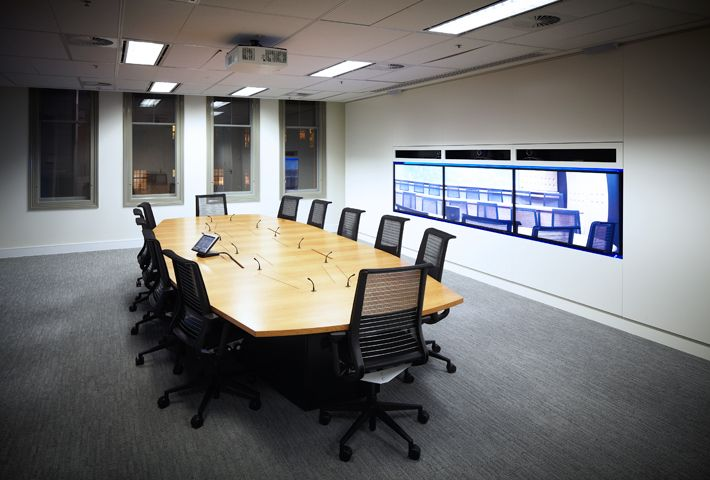 Telepresence Room conference rooms Pinterest Conference room