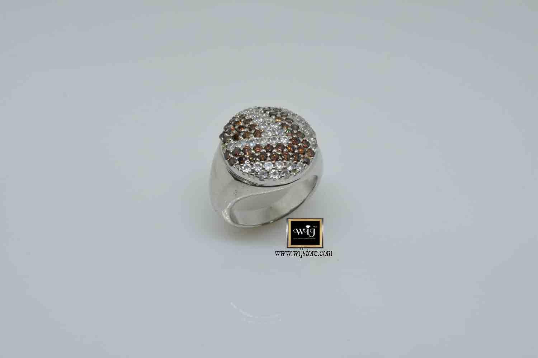 خاتم فضة نسائى عيار 925 Druzy Ring Rings Jewelry
