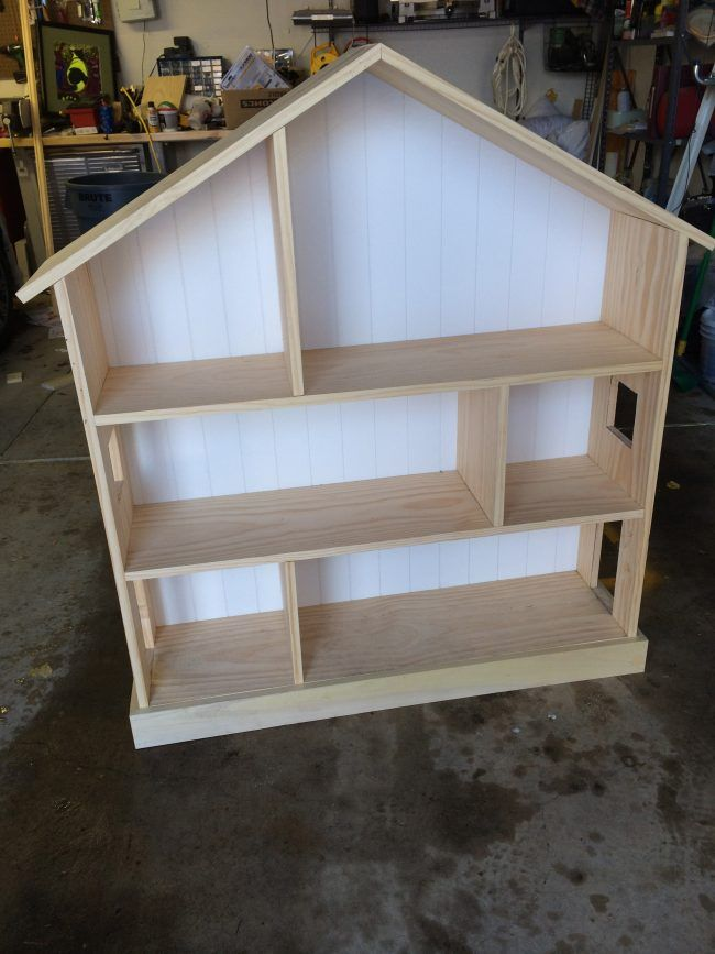 Cutest Dollhouse Bookcase To Build Yourself Kids Dollhouse Bookcase Doll House Plans Diy