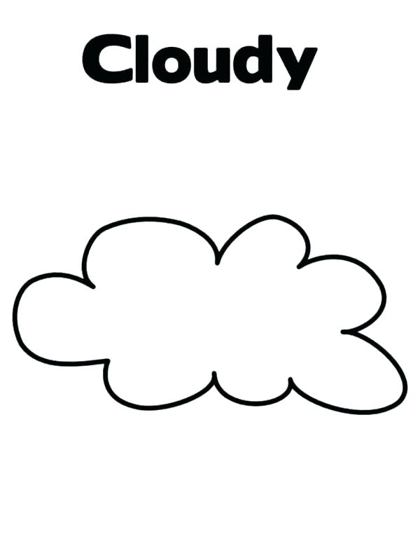 Cloud Coloring Page Wallsearch Info Coloring Pages Album Art Design Sun Drawing
