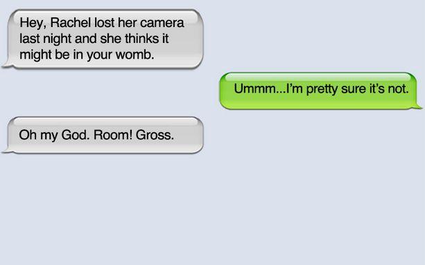 Lost her camera.