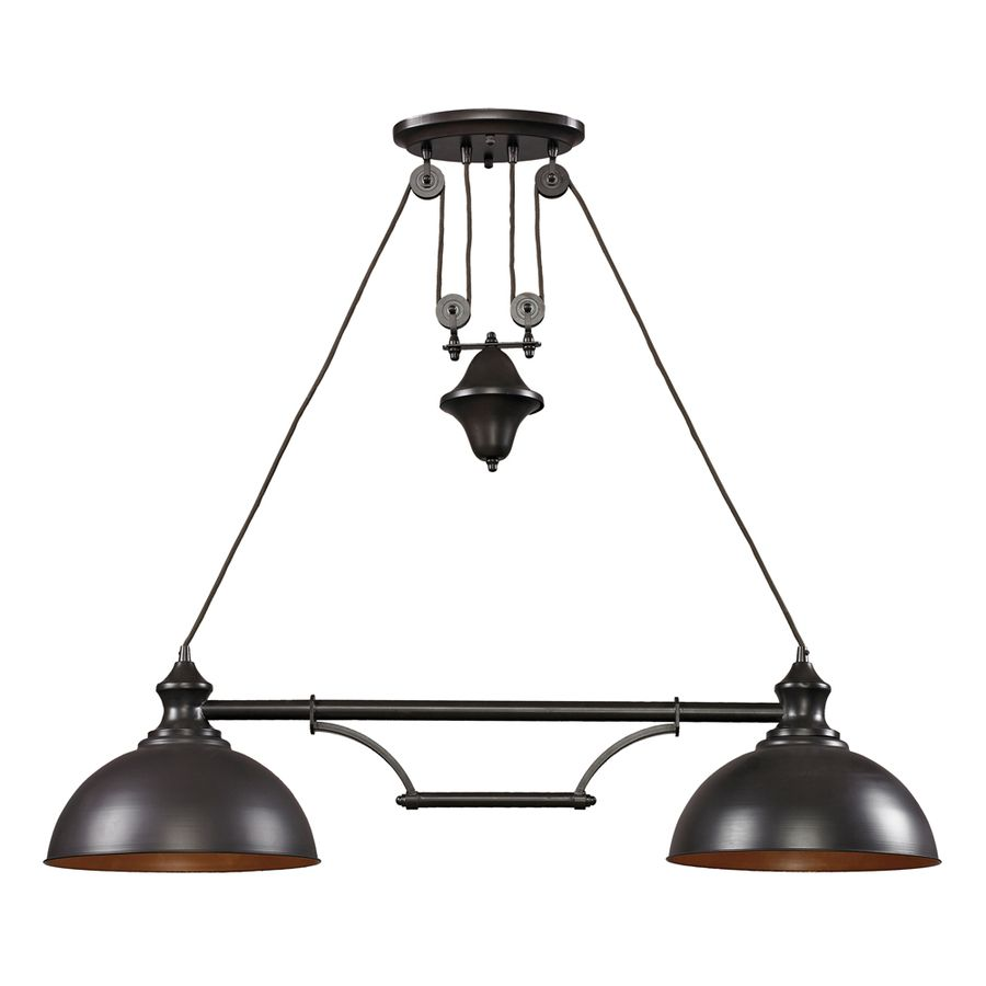 farmhouse oiled bronze two light pendant elk lighting island pendant lighting ceiling ligh