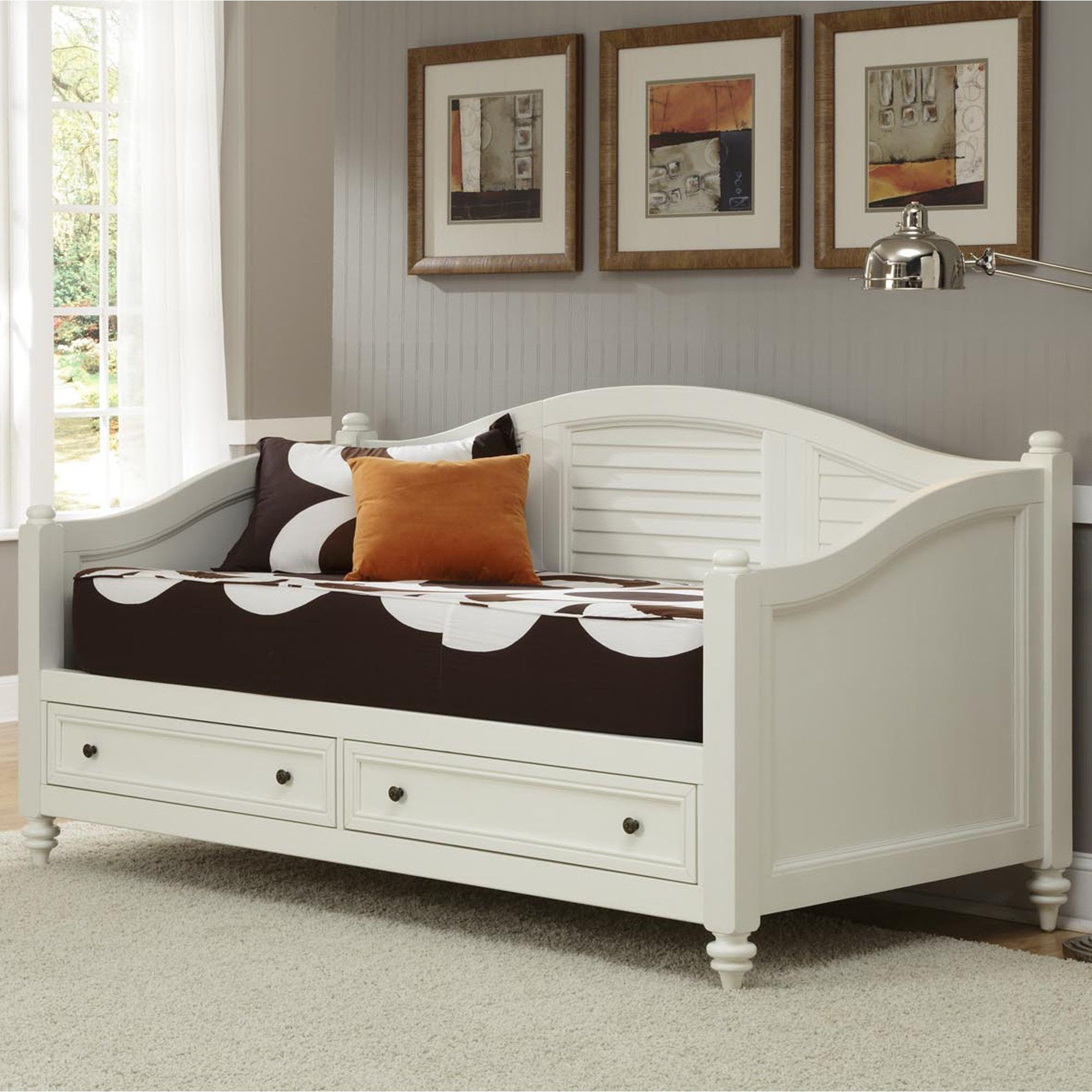 Bermuda daybed frame with drawers daybed with storage
