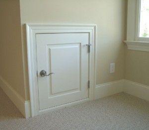 Dormer Access Doors 7 Finish Carpentry Pinterest