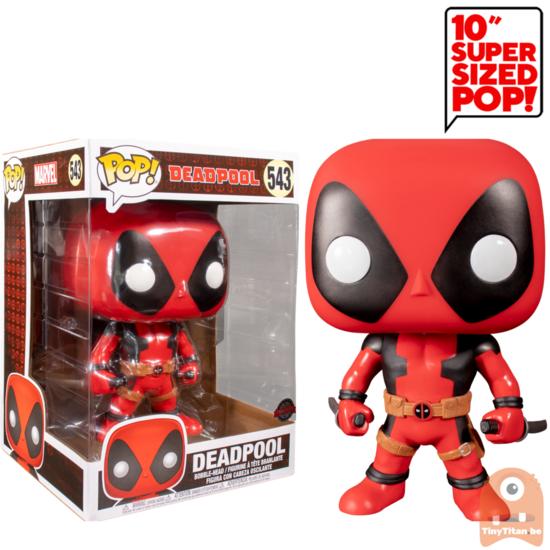 Pop Marvel Deadpool W Swords Red 10 Inch 543 Funko Pop Pop Deadpool