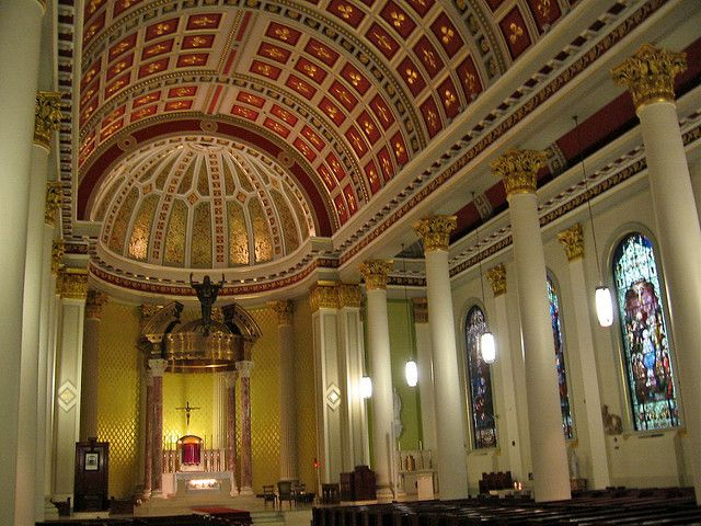 Cathedra mobili ~ Cathedral basilica of the immaculate conception mobile alabama