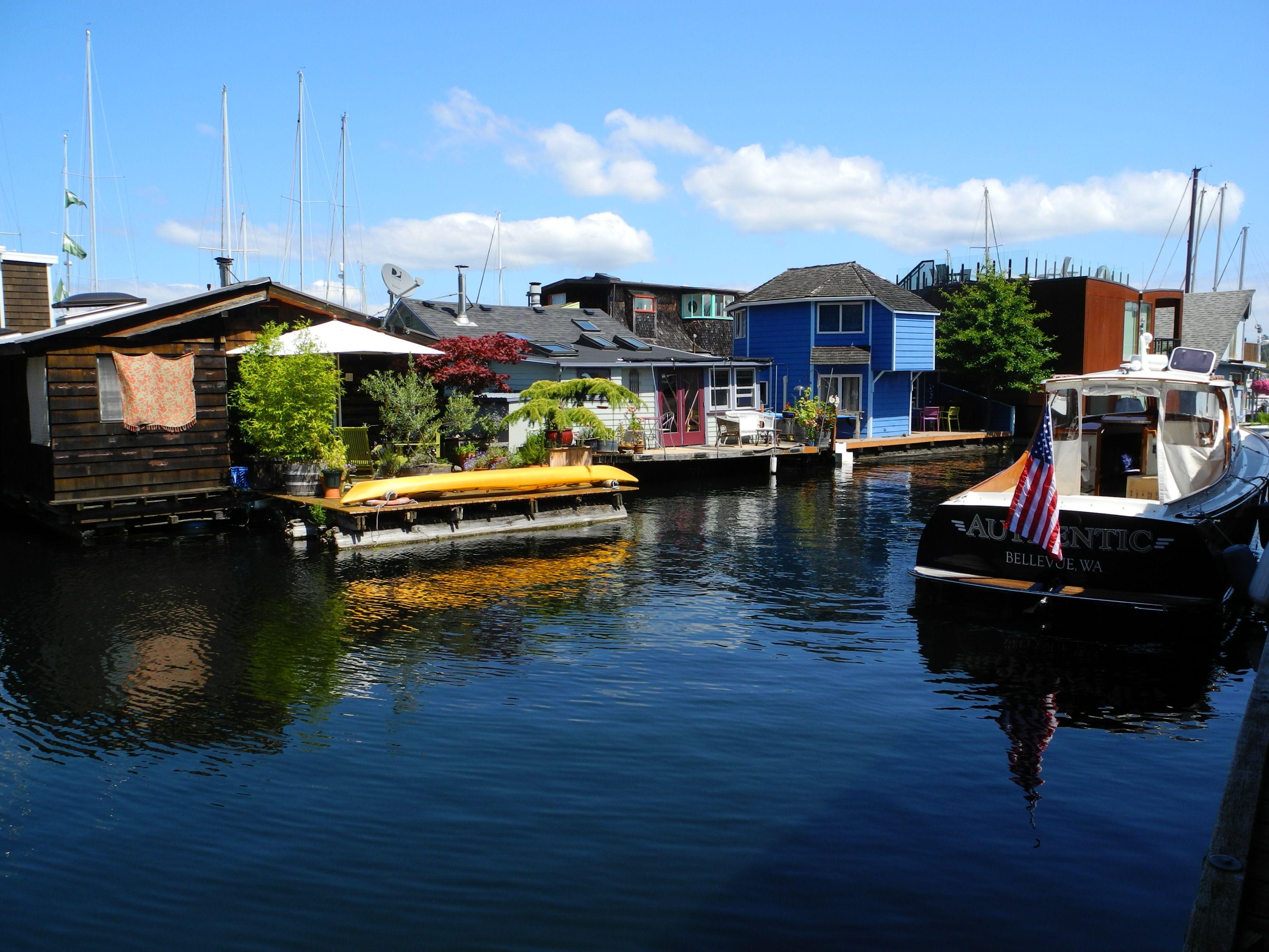 Houseboats, Seattle