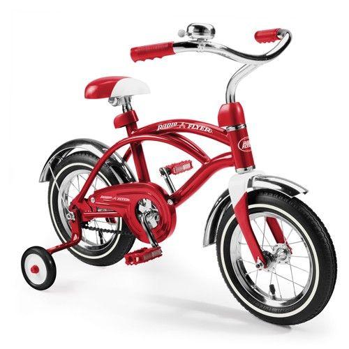 Radio Flyer Classic Red 12 Cruiser Trikes Bikes Bike With Training Wheels Radio Flyer Kids Bike