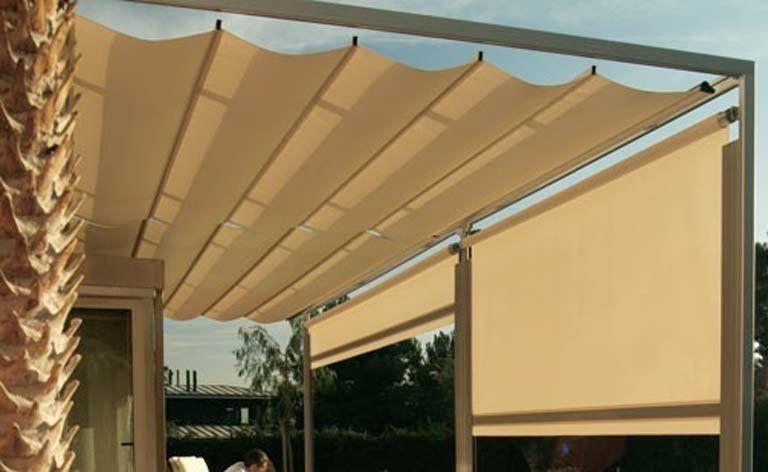 P rgolas y toldos para la terraza o el porche p rgolas for Toldos para patios pequenos