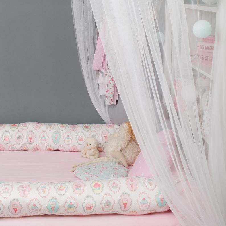 Canopy for the frame montessori bed baldachin canopy play
