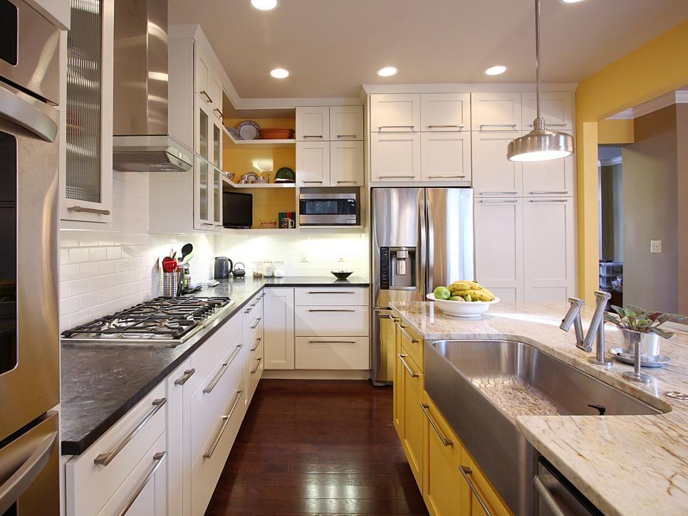 Diy Painting Kitchen Cabinet Ideas 4x3 Hgtv Kitchen Cabinets Www Yellow Kitchen Cabinets Painting Kitchen Cabinets Kitchen Inspirations