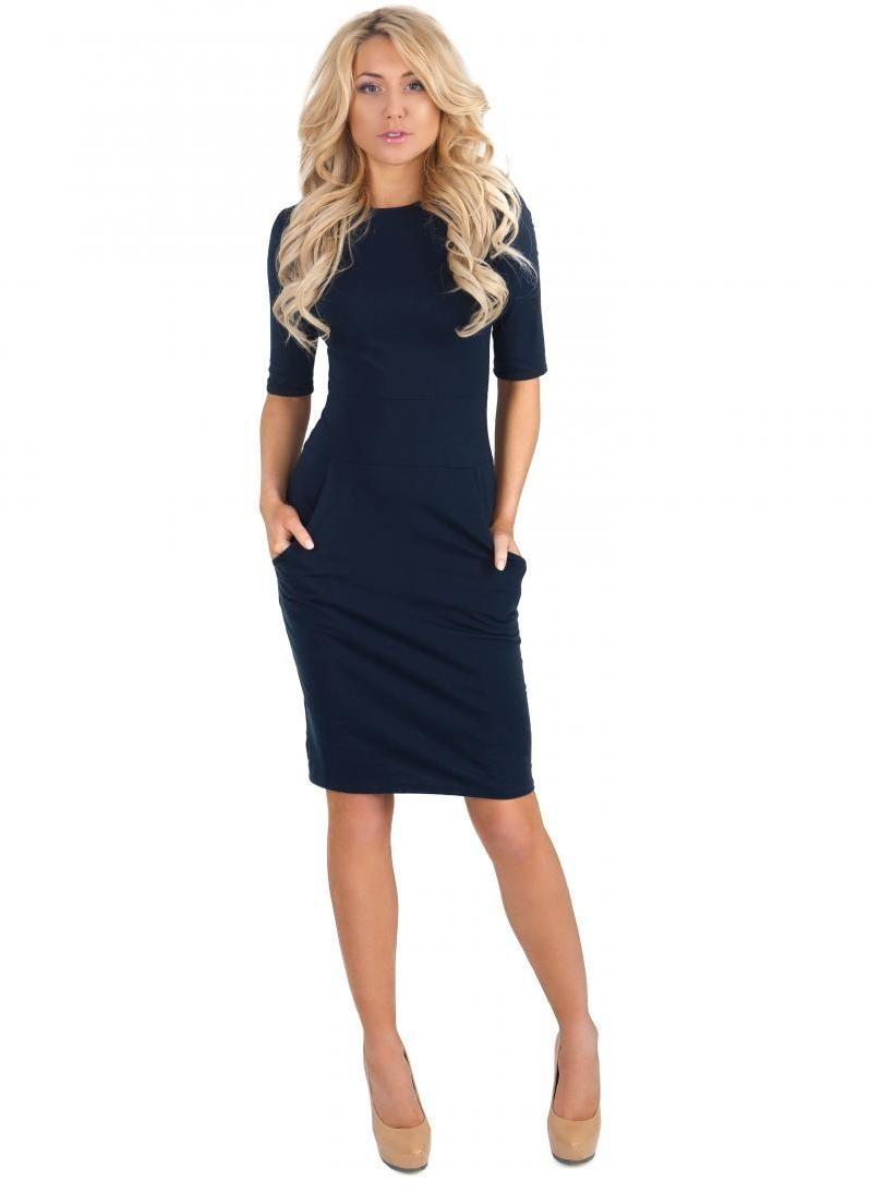 6d2e3ab2930 Модные офисные платья  100 стильных фасонов