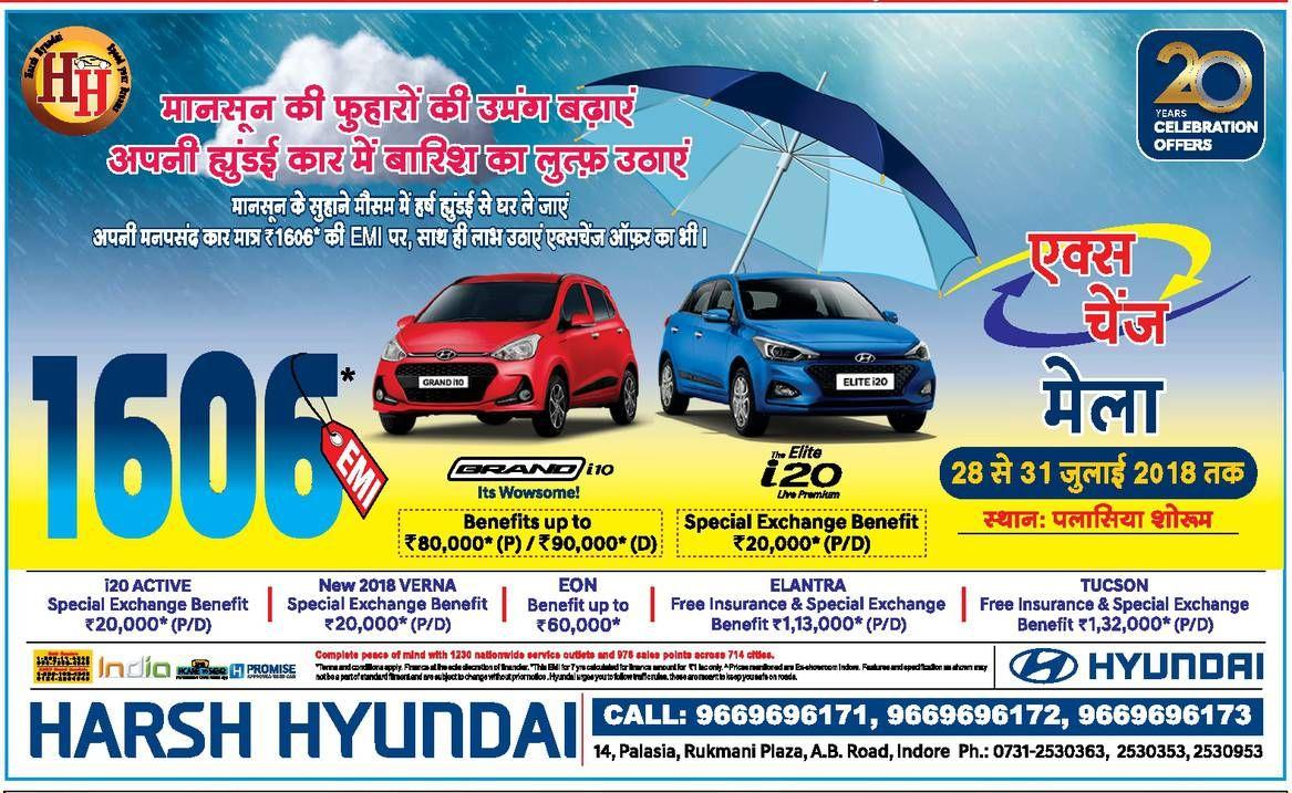 Hyundai Exchange Mela Mega Sale Cars For Sale Offer
