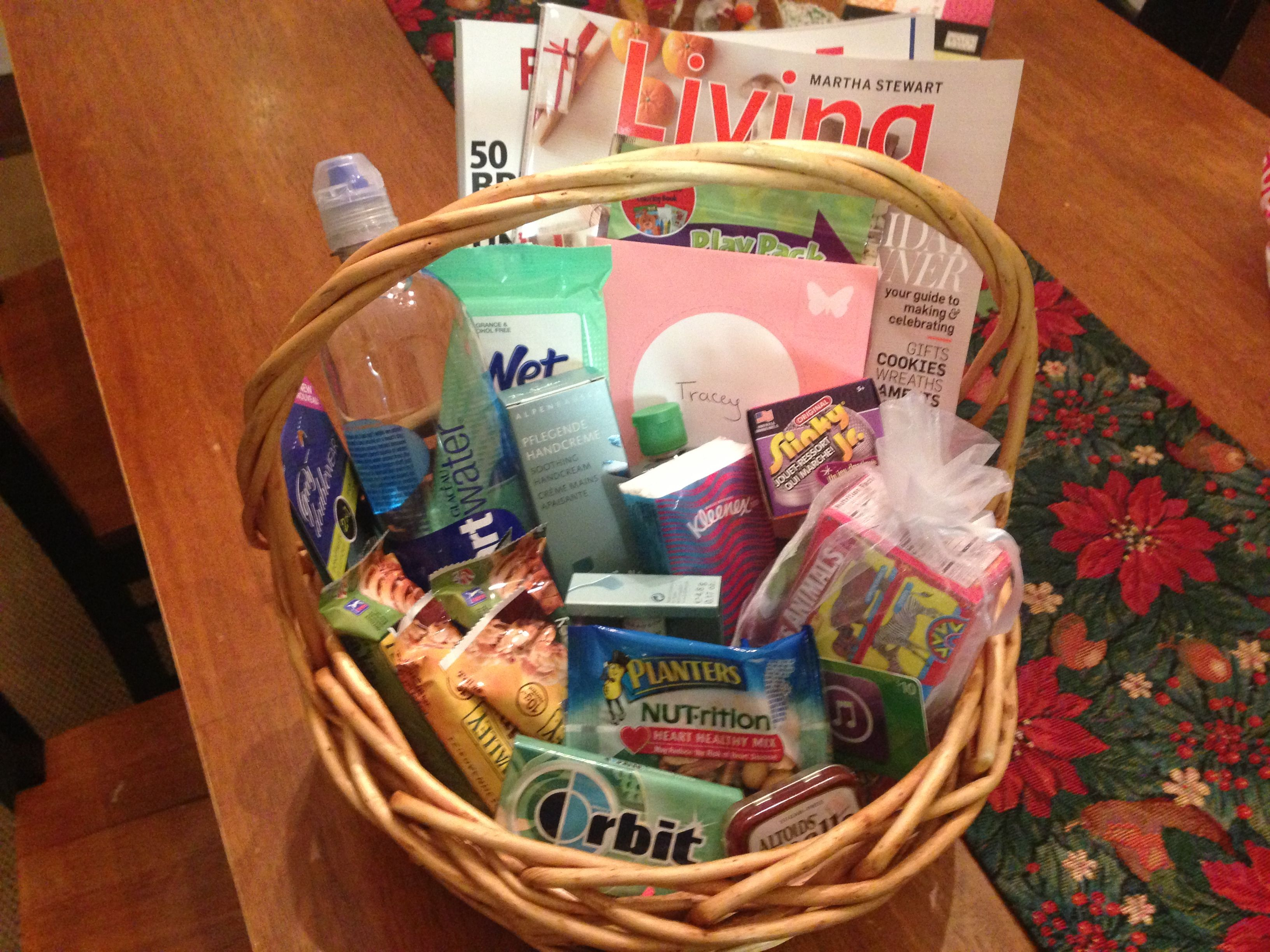 Mother And Baby Gift Hamper : New nursing mom gift basket magazines snacks gum mints