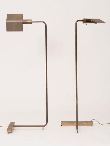"Cedric Hartman ""Low Profile Luminaire"" Floor Lamps // Patrick Parrish"
