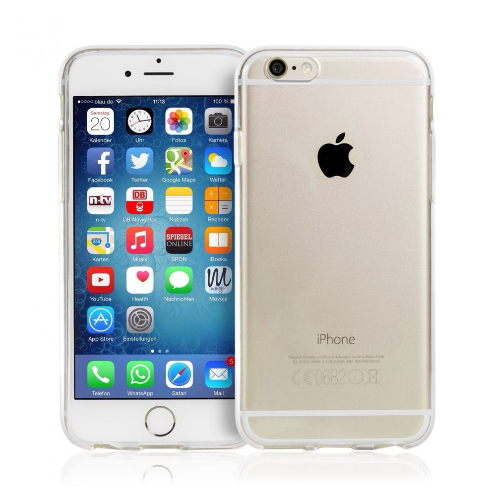 Slim Soft Case Fur Apple Iphone 6 Plus Transparent 0 3 Mm Neu Zubehor Mit Bildern Apple Iphone 6 Iphone 6 Apple Iphone